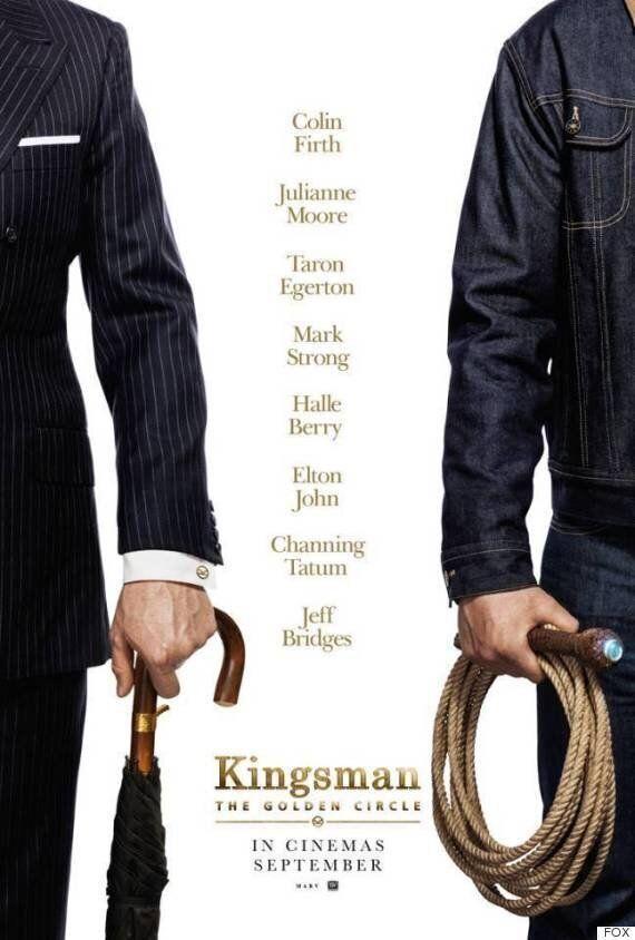 '킹스맨2' 새로운 포스터가 콜린 퍼스의 귀환을 공식적으로