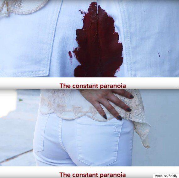 생리할 때 모든 여자들이 겪는