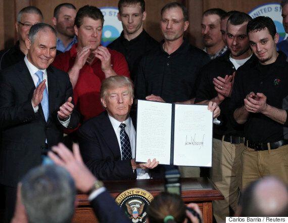 '오바마의 기후변화 대책을 폐지해 석탄산업을 살리겠다'는 트럼프의 말이 완전 헛소리인