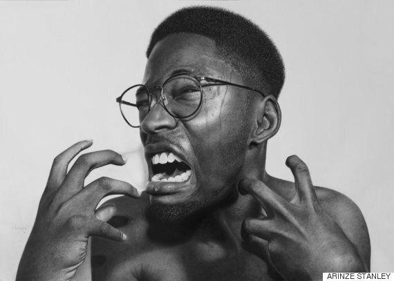 혼자 그림을 터득한 나이지리아 화가의 이 작품들은 사진이