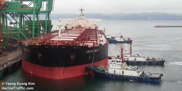 한국인 8명 등 탑승 화물선, 남대서양에서 '침수' 메시지 이후