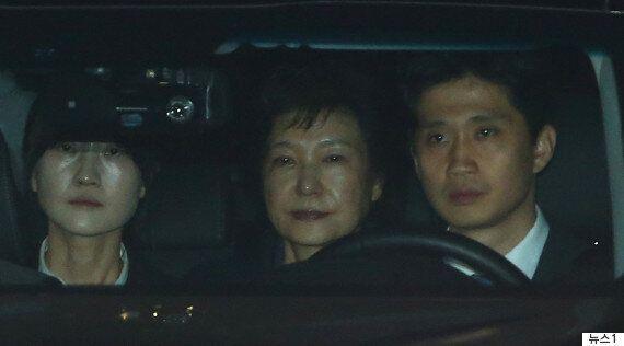 박근혜 전 대통령의 구속 기간이