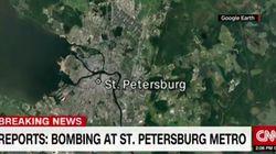 러 상트페테르부르크 전철역에서 폭발