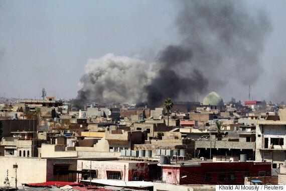 미국 국방부가 연합군 공습으로 인한 이라크 모술 민간인 사망 사건을