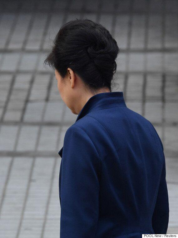 박근혜 전 대통령의 첫 조사가 10시간 40분 만에