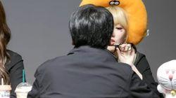 '여자친구' 멤버 예린이 '안경 몰카'를