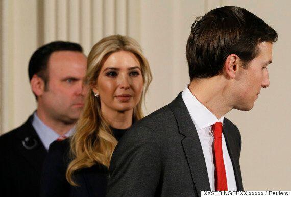 쿠슈너와 이방카는 백악관에서 일하면서 가족기업 수익도