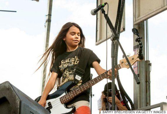 메탈리카 베이시스트의 12살 아들이 콘의 베이스로