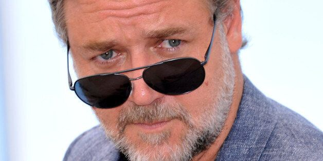 CANNES, FRANCE - MAY 15 : Russel Crowe attends 'The Nice Guys' premiere during The 69th annual Cannes...