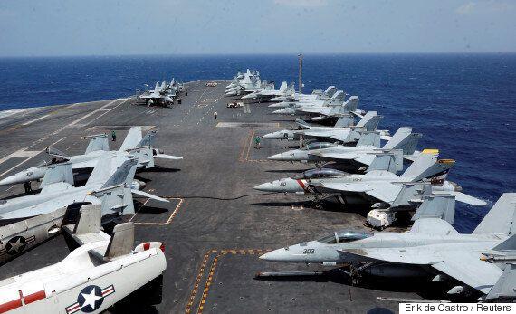 미국의 항모전단이 한반도에 다가온다. 트럼프는 시리아처럼 북한을 공격할