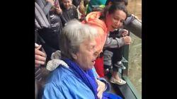 이 할머니가 동물원에 온 걸 곧바로 후회한