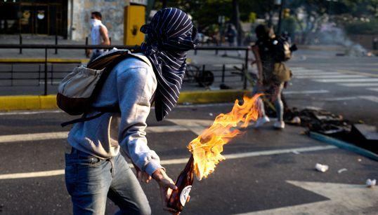 베네수엘라 '대통령 퇴진' 대규모 시위가