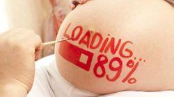 '임신부 바디페인팅'이 유행하는