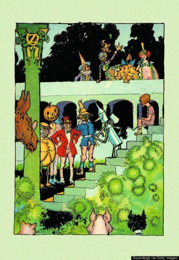 '오즈의 마법사' 시리즈는 아이들에게 사회 불의와 진보 정치학을 가르치는 교재가 될 수