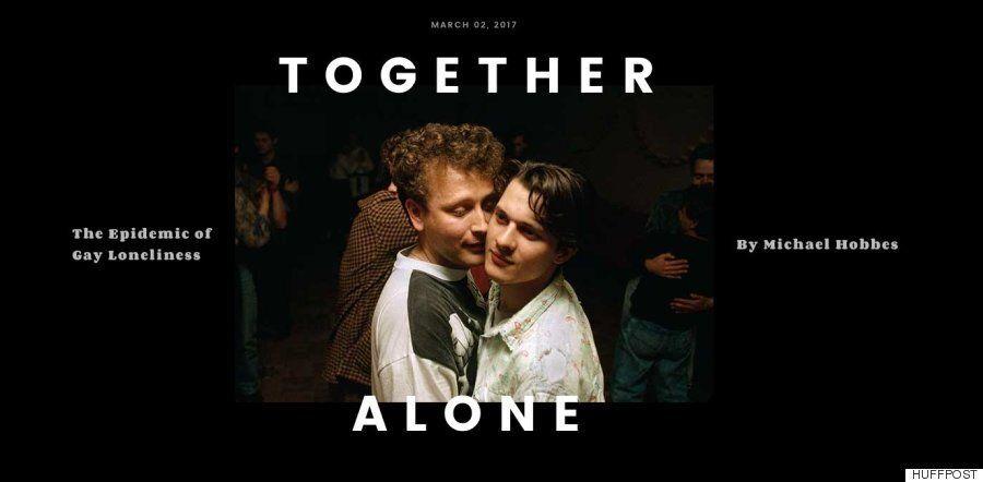 함께 있어도 외롭다 : 게이들의 새 전염병,