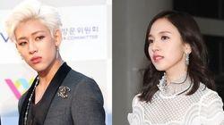 JYP가 트와이스 미나와 갓세븐 뱀뱀의 사진을