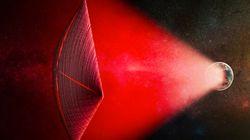 외계인들은 거대 무선 빔을 사용해 우주를