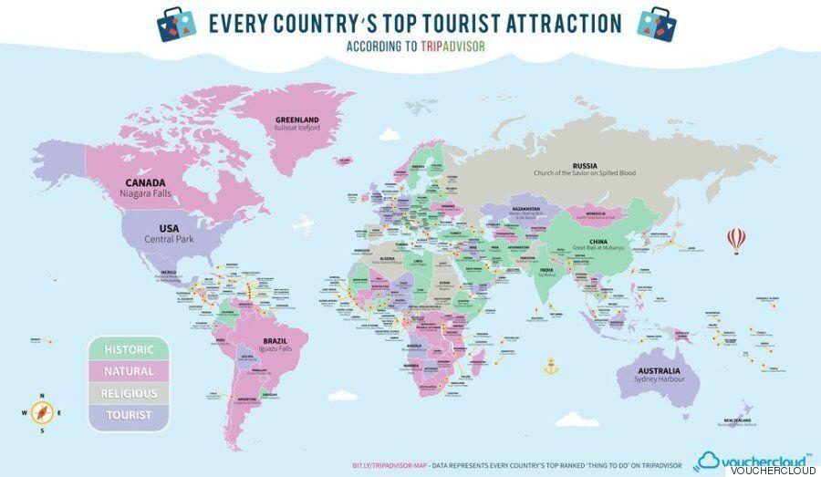 전 세계 국가에서 관광객이 해야 할 단 1가지