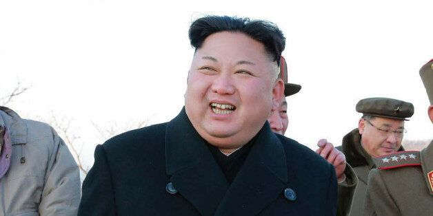 This undated picture released by North Korea's Korean Central News Agency (KCNA) via KNS on March 7,...