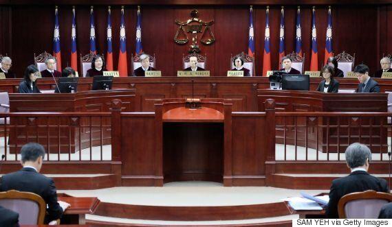 대만 동성결혼 법제화에 대한 역사적인 헌법재판소 심리가