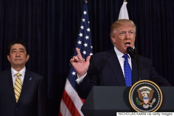 트럼프는 김정은과 담판을 지어야