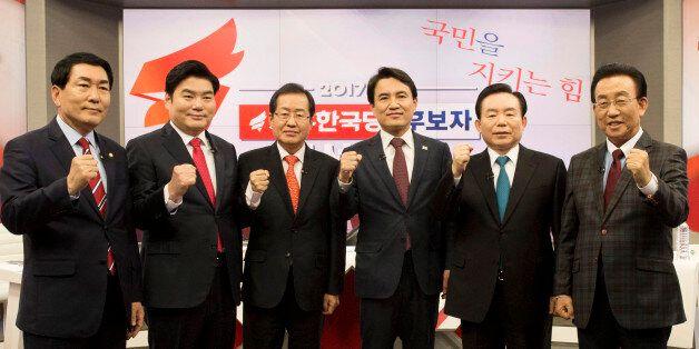 자유한국당 경선은 '홍준표 vs. 친박'의 구도로