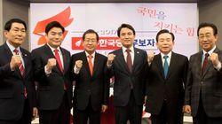 한국당 경선은 '홍준표 vs.