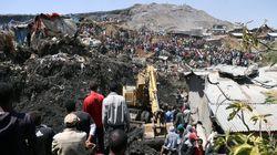에티오피아 '쓰레기 산' 붕괴로 48명이