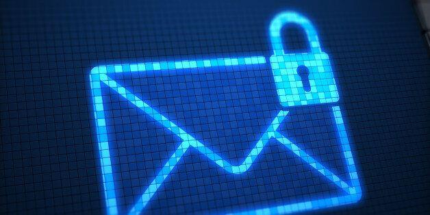 Secure mail on digital