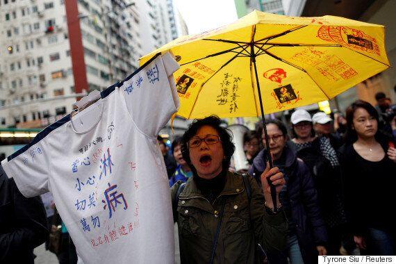 '친중국' 후보 캐리 람이 홍콩을 이끌 행정장관에