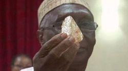 어느 목사가 706캐럿짜리 다이아몬드를