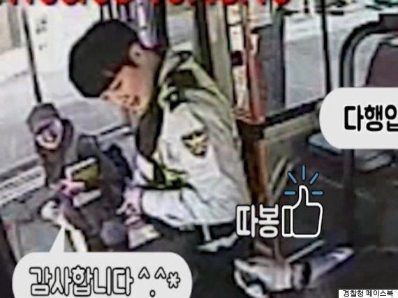 인천 경찰, 휴대폰을 버스에 놓고 내린 할머니를 위해 추격전을