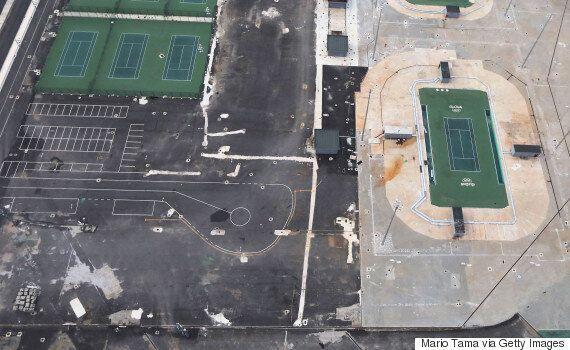 올림픽 7개월 후 리우 올림픽 파크는 이