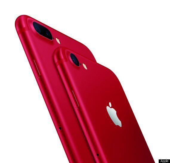 애플이 '프로덕트 레드' 아이폰7을 출시한다