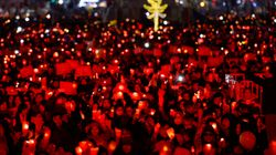 촛불집회 누적인원, 1500만을