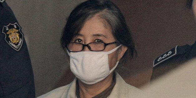 최순실과 안종범 등은 재판 도중 박근혜 탄핵 소식을