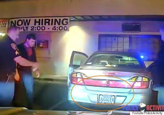 이 대학생이 경찰 앞에서 저글링으로 맨정신을 입증한 건