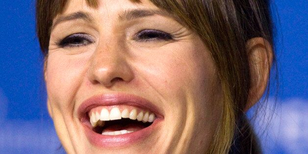 Actress Jennifer Garner attends a news conference to promote the