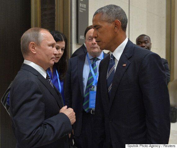 미국과 러시아의 긴장이 고조될 때 미국 법무장관 제프 세션스가 러시아 대사를