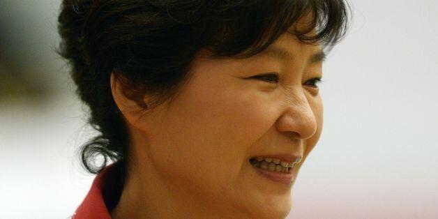 South Korean President Park Geun-Hye attends the ASEAN Plus Three Summit at the Myanmar International...