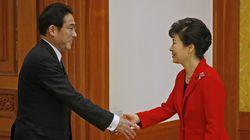 일본 외무상은 '위안부 합의 이행'을