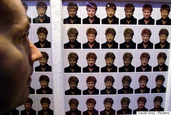 호주 반이민 극우당인 '일국당'의 폴린 핸슨이 급부상하고