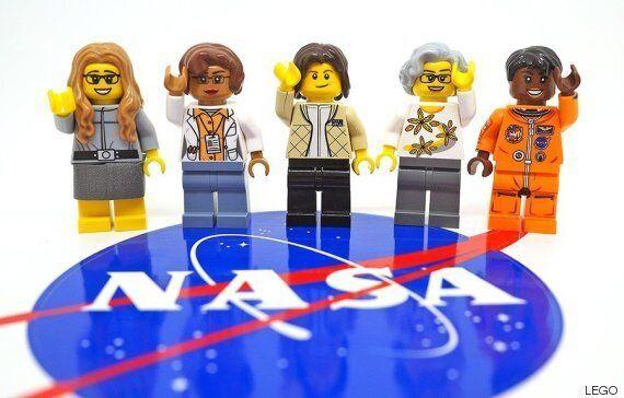 레고의 새로운 제품은 NASA의 숨겨진 영웅들이다. 그들은 모두