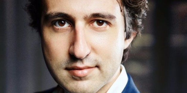 GroenLinks candidate Jesse Klaver poses for a photograph in The Hague, on February 3, 2017.Founded in...