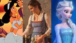 디즈니의 여성 캐릭터들은 왜 푸른색 옷만