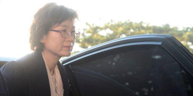 대통령 박근혜 탄핵선고일 아침, 헌법재판관 8명이 출근을