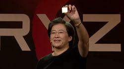 AMD의 기대작 '라이젠'의 성능과 가격이 발표된 후 인텔이 입장을