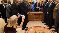 지금 미국에서 난리 난 백악관 집무실의 사진 한
