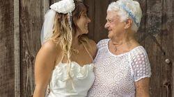 92세 할머니가 결혼식 들러리가 된 사랑스런
