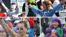2017 도쿄 마라톤 참가자들은 개성이